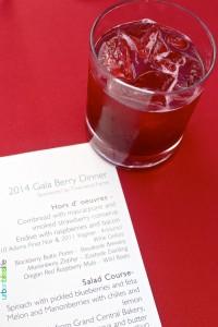 Oregon Berry Fest Berry Cocktail