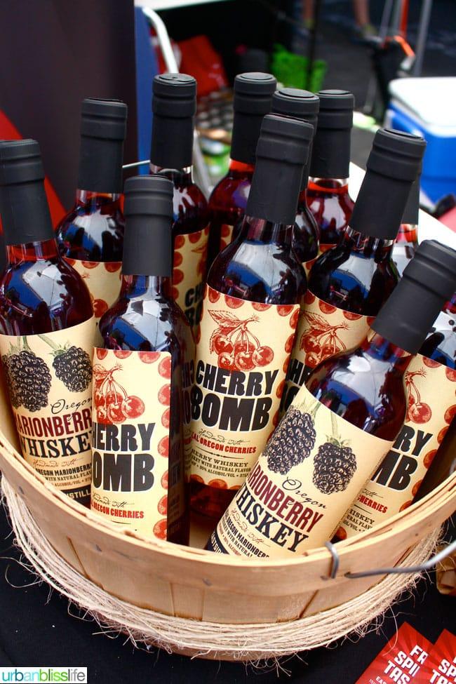 Oregon Berry Fest Eastside Distilling Whiskey