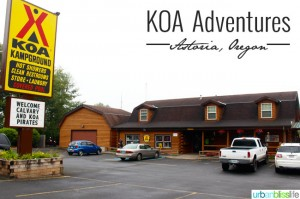 Kampground of America (KOA) family travel review