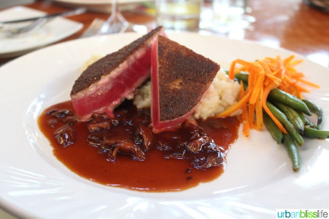 Bridgewater Bistro Ahi Tuna // Travel bliss: Astoria, Oregon on UrbanBlissLife.com