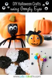 DIY Halloween Crafts Googly Eyes