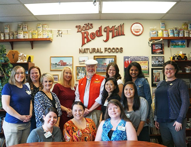 Portland bloggers tour of Bob's Red Mill | UrbanBlissLife.com