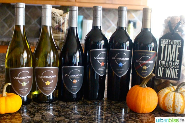 Columbia Crest Grand Estate Fall 2014 wines