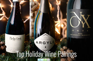 Top Holiday Wine Pairings on UrbanBlissLife.com
