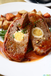 North Light Bacon Wrapped Meat Loaf