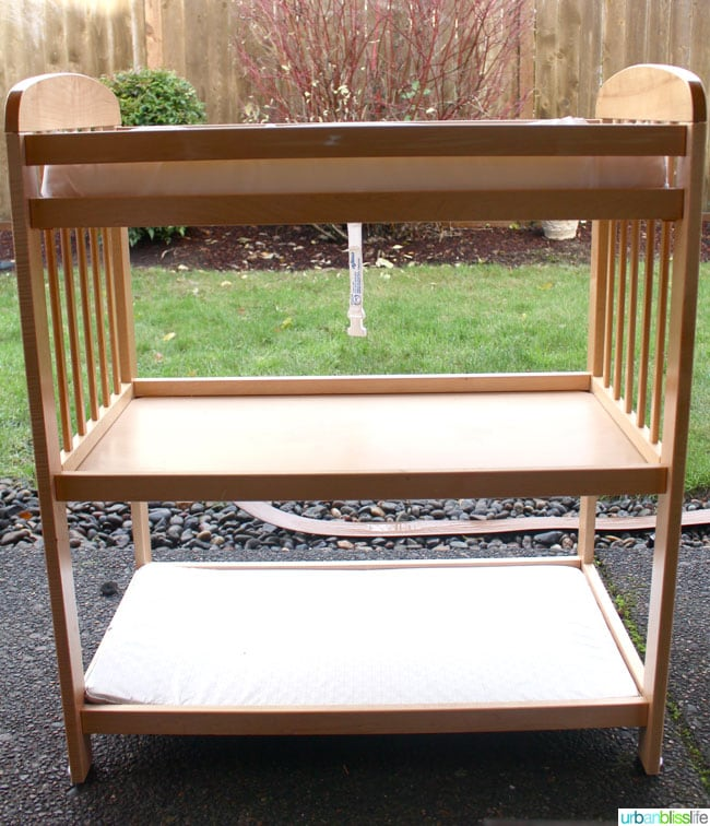 Diy Bliss Four Ways To Upcycle A Baby Changing Table