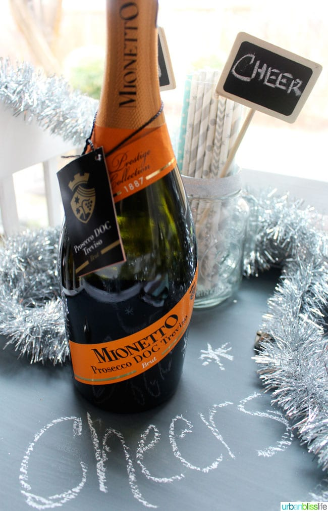 Mionetto Prosecco New Year's Eve Wines | UrbanBlissLife.com