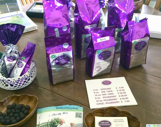 Travel Bliss: Hawaii Island, Aikane Coffee Plantation