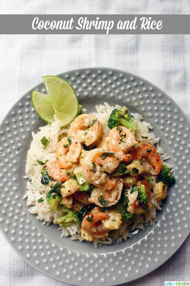 Coconut Shrimp Rice recipe