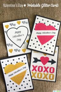 Valentine's Day Free Printables UrbanBlissLife.com