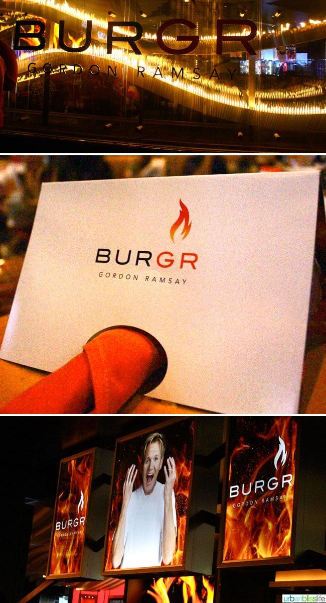 Las Vegas: Gordon Ramsay's Burgr, on UrbanBlissLife.com