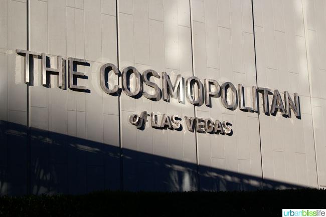 Las Vegas Cosmopolitan travel UrbanBlissLife.com