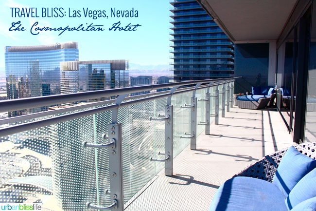 Travel Las Vegas: Bellagio & The Cosmopolitan