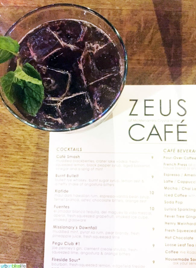 Zeus Cafe, McMenamins, Portland, Oregon - UrbanBlissLife.com