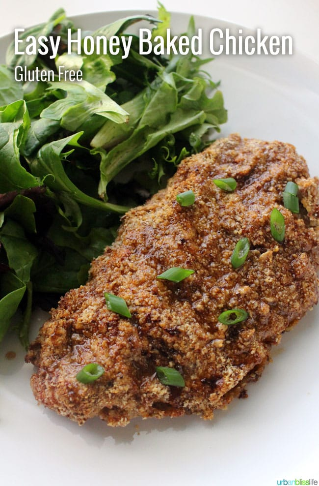 Easy Honey Soy Baked Chicken