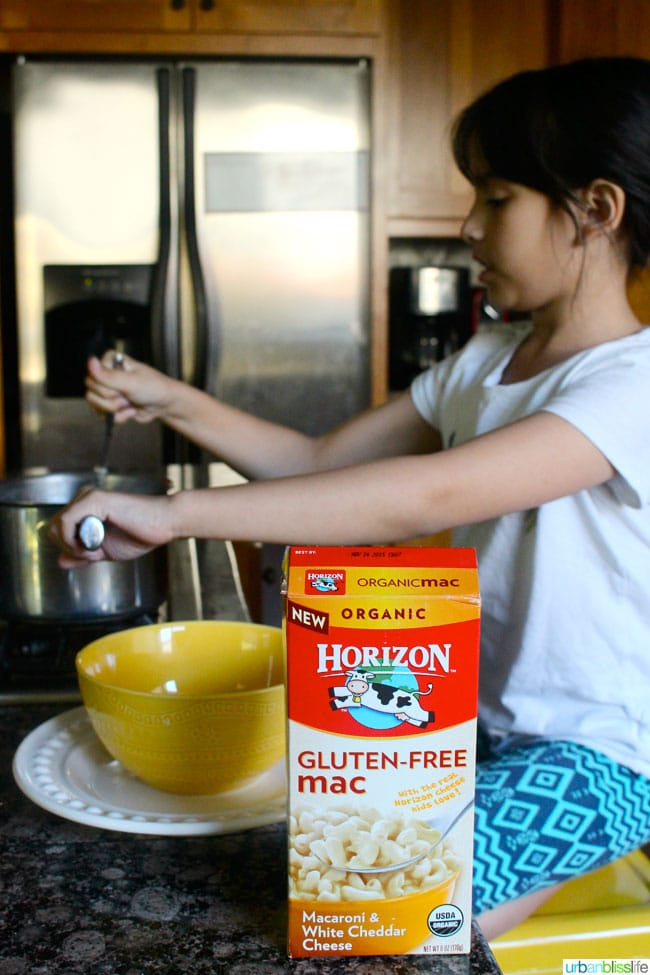 Horizon Organic Gluten Free Mac and Cheese recipe