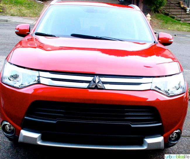 2015 Mitsubishi Outlander exterior