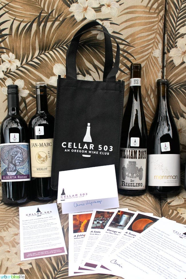 Oregon Wine Club: Cellar 503