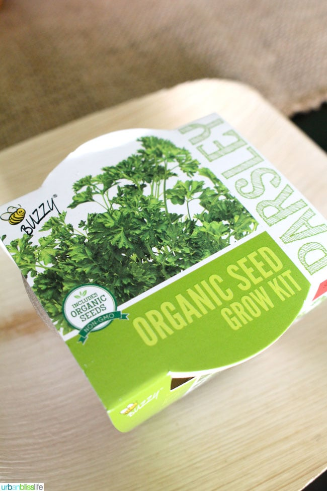 Earth Day Party Favors - Herb Seeds Kit