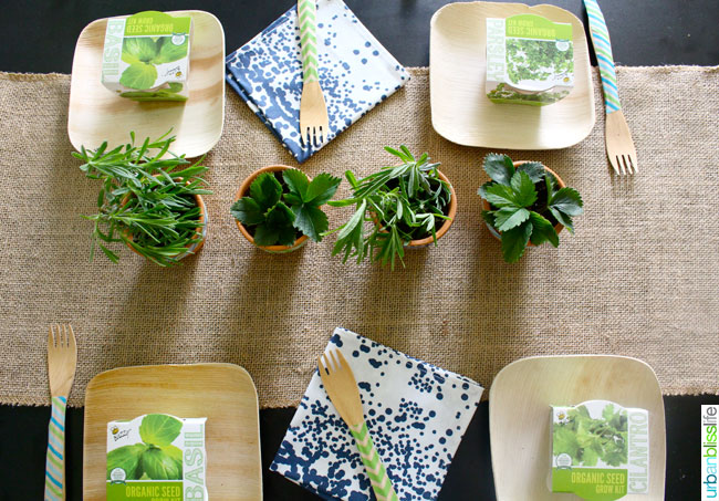 Earth Day Party Ideas Tablescape