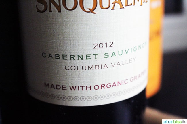 Snoqualmie Organic Cab Sauv