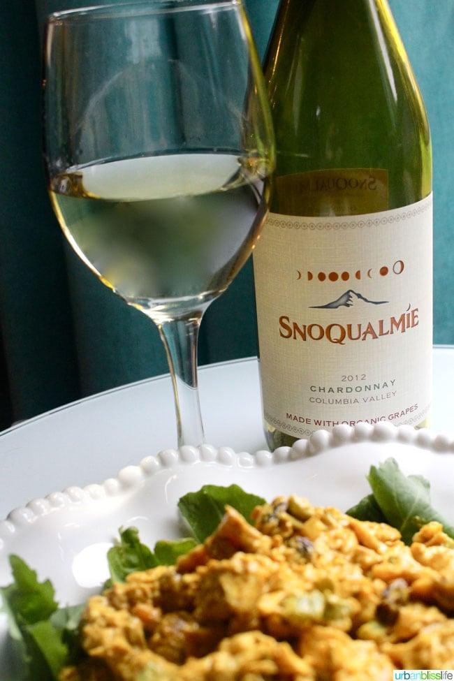 Snoqualmie Organic Chardonnay Glass