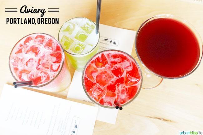 Aviary restaurant Portland Oregon   UrbanBlissLife.com