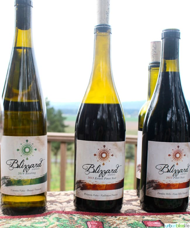 Blizzard Wines Oregon winery
