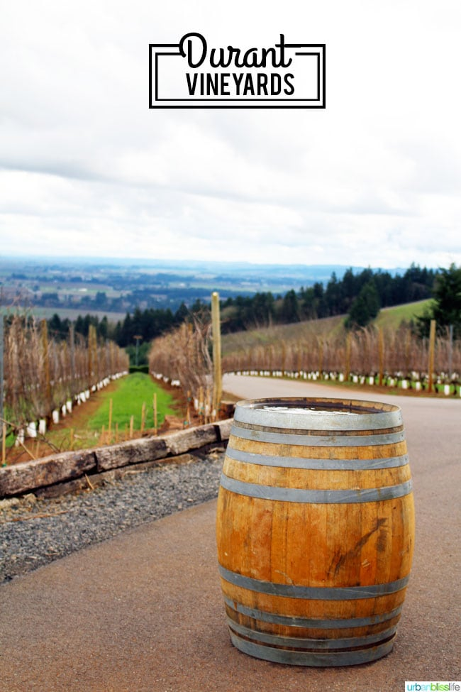 Oregon wine country: Durant Vineyards
