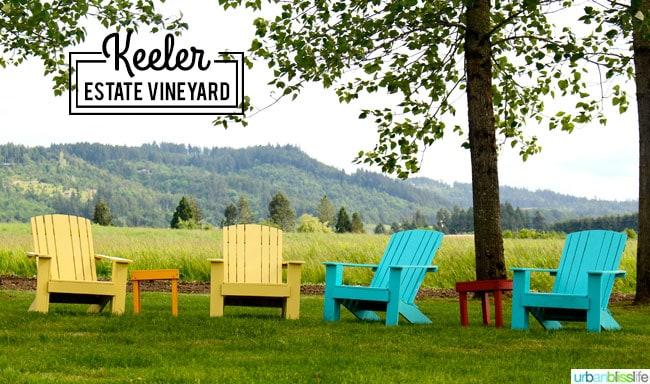 Keeler Estate Vineyard Oregon wine