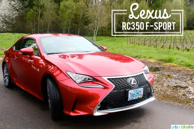 drive bliss lexus rc 350 f sport urban bliss life. Black Bedroom Furniture Sets. Home Design Ideas