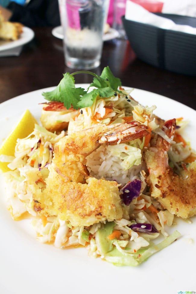 Tidal Raves restaurant shrimp