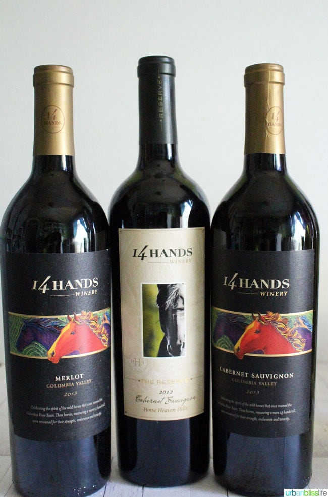 14 Hands Summer 2015 wines on UrbanBlissLife.com