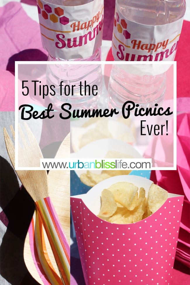 5 Tips for the Best Summer Picnic Ever on UrbanBlissLife.com
