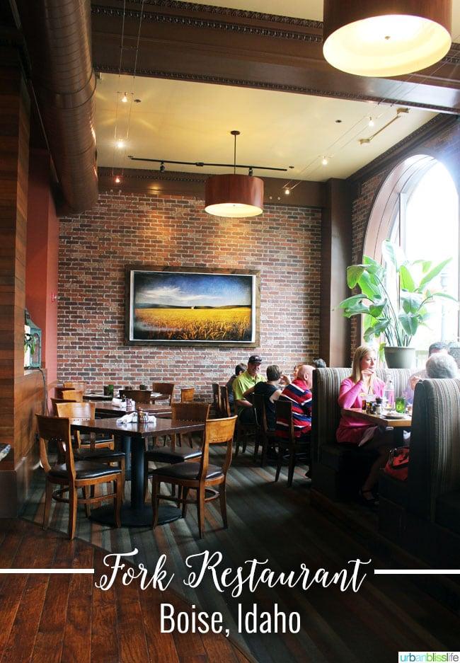 ID Fork Restaurant In Boise Idaho On UrbanBlissLife
