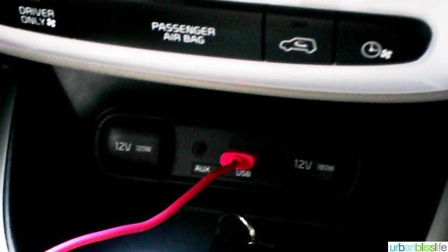 Kia Soul EV car review on UrbanBlissLife.com