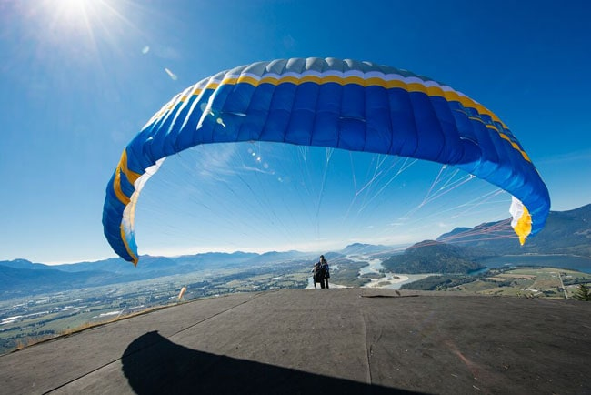 Fraser Valley Paragliding in British Columbia