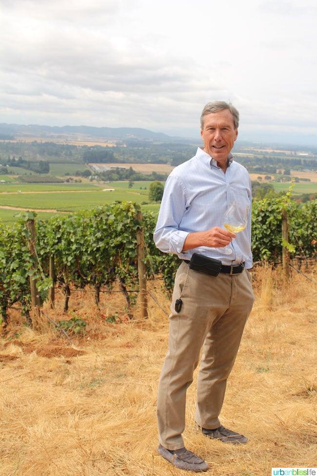 Bill Stoller, Stoller Family Estate Vineyard & Winery, on UrbanBlissLife.com