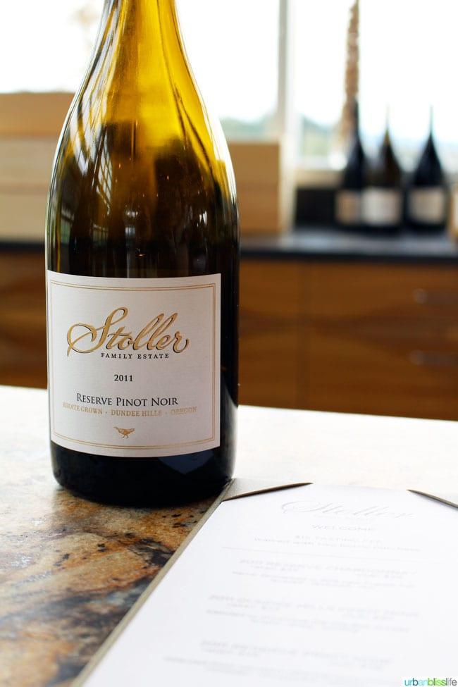 Stoller Winery 2011 pinot noir