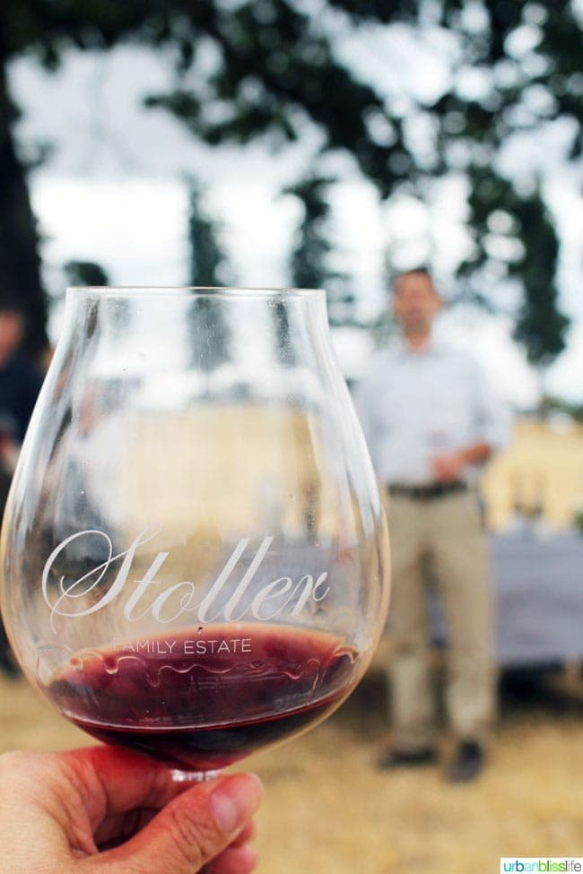 Stoller red wine