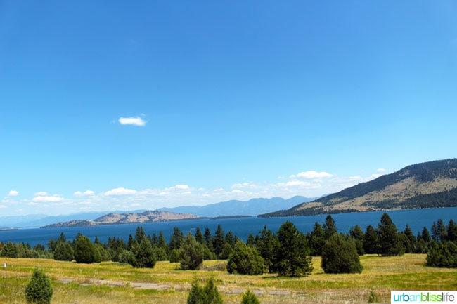 Flathead Lake Montana | Travel Bliss on UrbanBlissLife.com