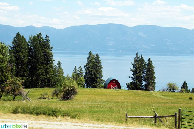 Flathead Lake Montana | Travel Bliss on UrbanBlissLife.com
