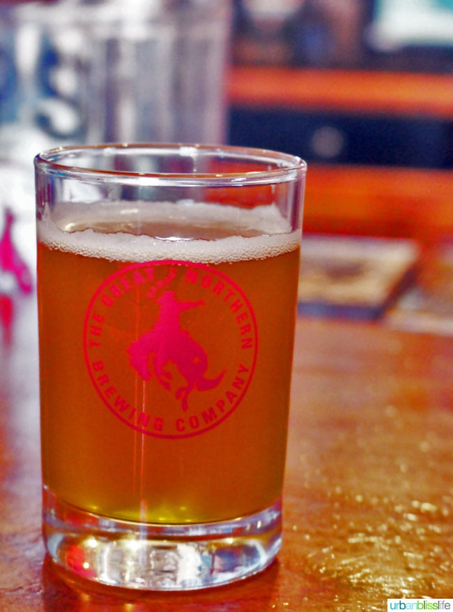 Travel + Drink Bliss: The Great Northern Brewing Company in Whitefish, MT