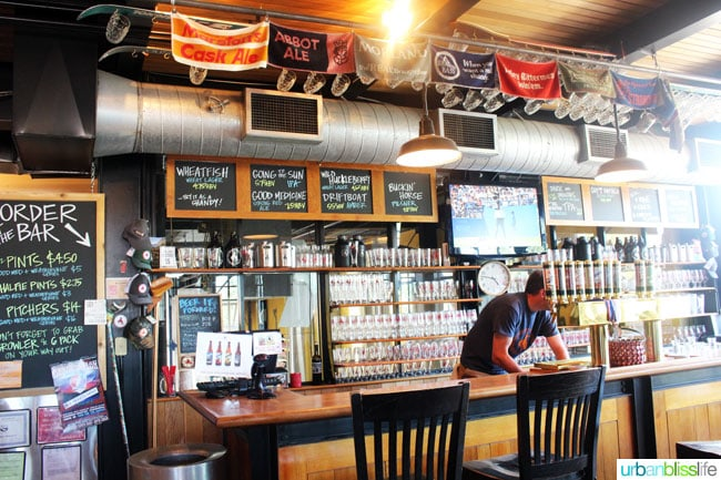 Bar at Great Northern Brewing Co.