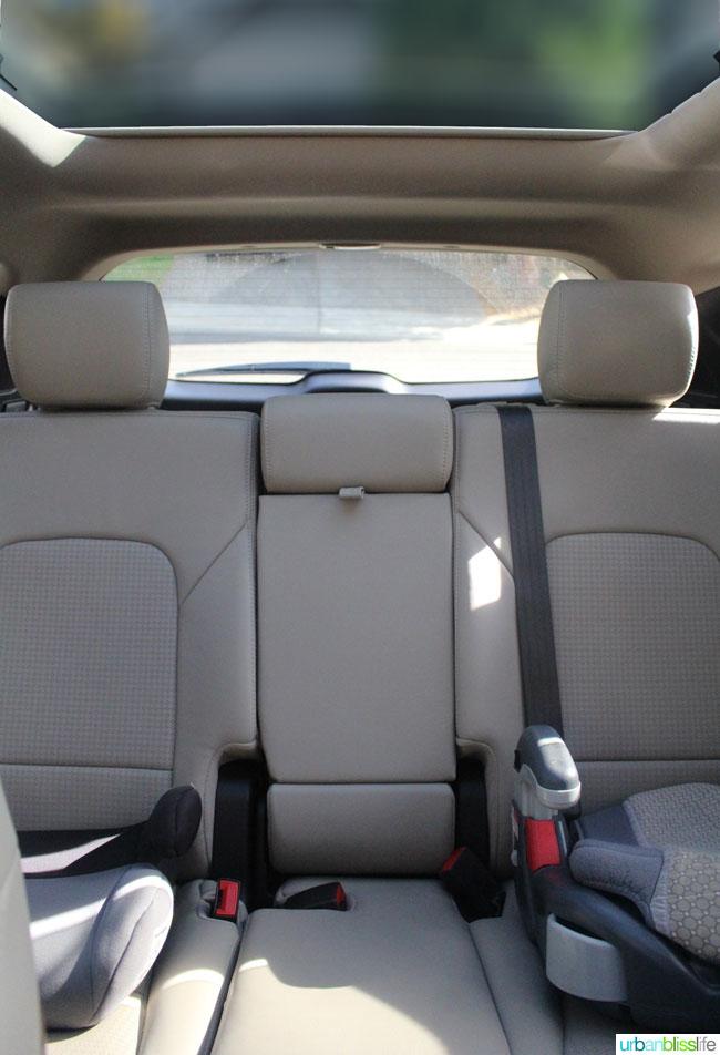 2015 Hyundai santa fe sport interior