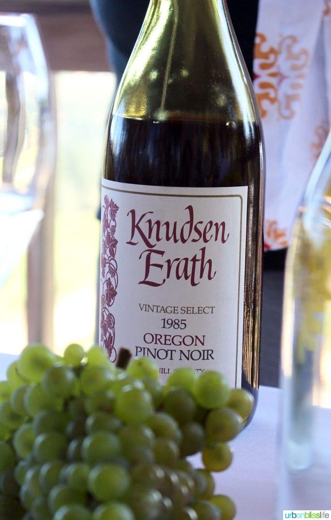 Knudsen Erath pinot noir
