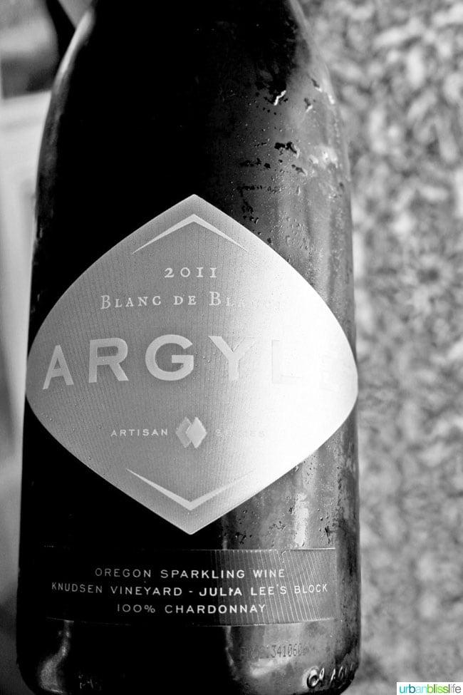 Argyle Blanc de Blanc Sparkling Wine on UrbanBlissLife.com