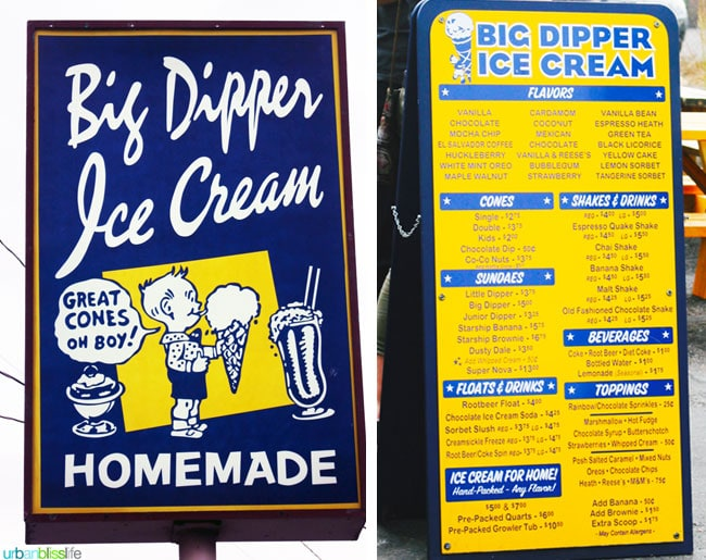Places to Eat in Missoula, Montana: Big Dipper Ice Cream