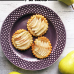 Pear Tartlet recipe & Giveaway on UrbanBlissLife.com