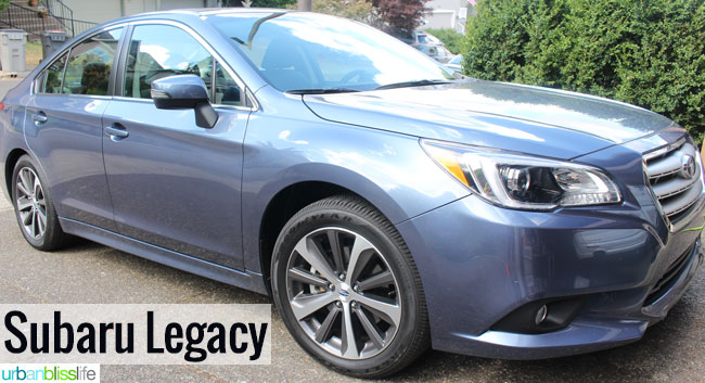 2015 Subaru Legacy review on UrbanBlissLife.com